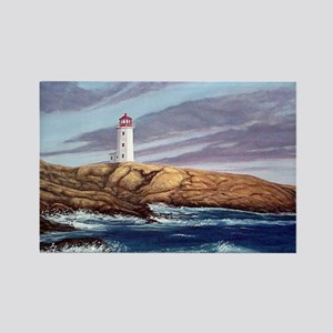 Peggy's Cove Lighthouse Rectangle Magnet