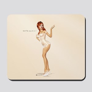Won't You Come On In Mousepad