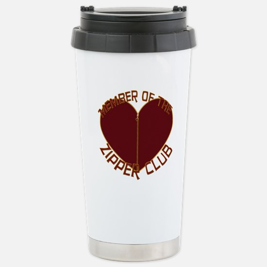 Zipper Club Stainless Steel Travel Mug