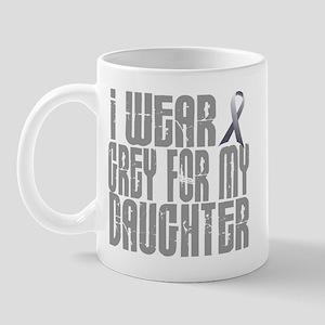 I Wear Grey For My Daughter 16 Mug