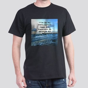 PHIL 4:13 VERSE Dark T-Shirt