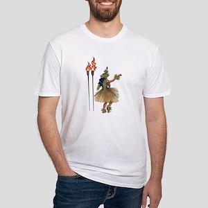 Hula Gal Fitted T-Shirt