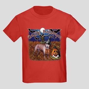 halloween design3 Kids Dark T-Shirt
