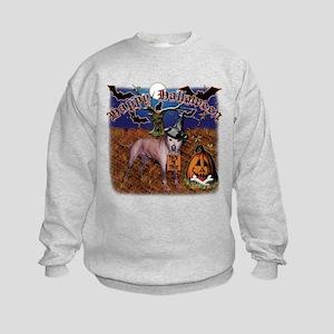 halloween design3 Kids Sweatshirt