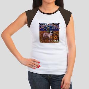 halloween design3 Women's Cap Sleeve T-Shirt