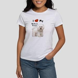 I Love My Bichon Frise Women's T-Shirt