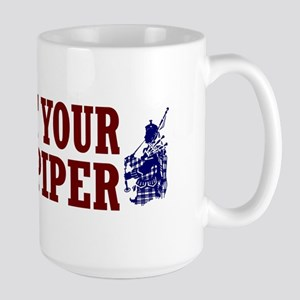 Support Your Local Piper Large Mug