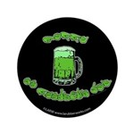 "Happy St. Pat's 3.5"" Button"