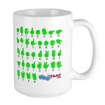 Happy St. Pat's Large Mug