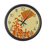 Cheesy Puffs Large Wall Clock