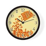 Cheesy Puffs Wall Clock
