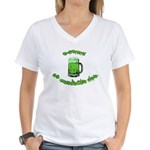 Happy St. Pat's Women's V-Neck T-Shirt