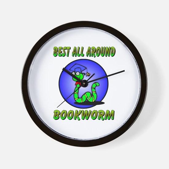 Best Bookworm Wall Clock