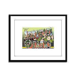 Ozarks Arkansas Framed Panel Print