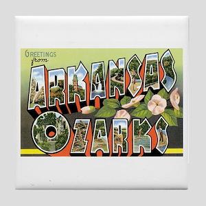 Ozarks Arkansas Tile Coaster