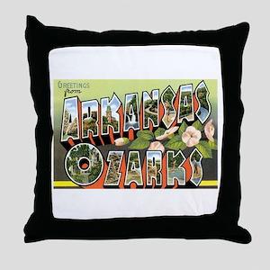 Ozarks Arkansas Throw Pillow