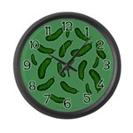 Pickles Large Wall Clock