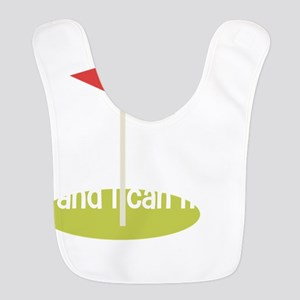 i like big putts and i can not Polyester Baby Bib