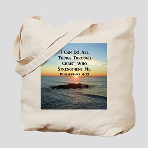 PHIL 4:13 VERSE Tote Bag