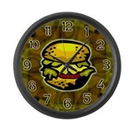 Cheeseburger Large Wall Clock