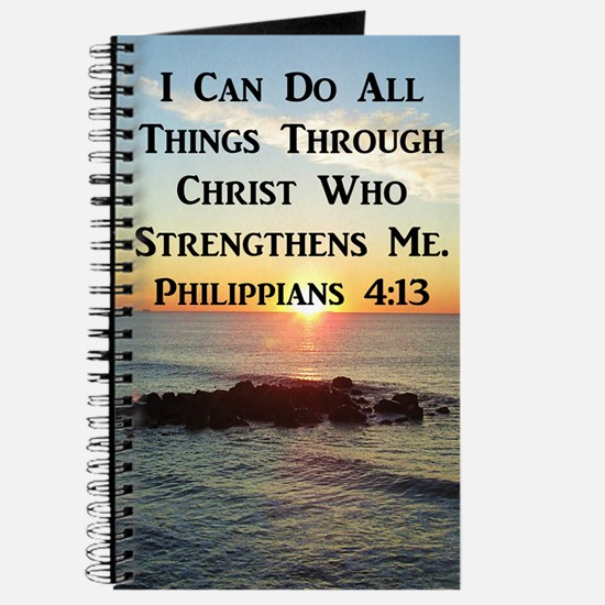 PHIL 4:13 VERSE Journal