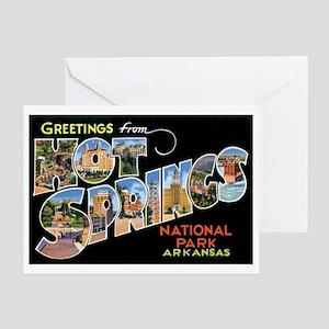 Hot Springs Arkansas Greeting Card