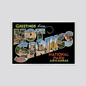 Hot Springs Arkansas Rectangle Magnet