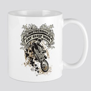 Eat, Sleep, Ride Motocross Mug