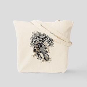 Eat, Sleep, Ride Motocross Tote Bag