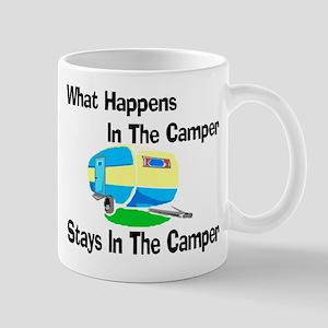 What Happens In The Camper Mug