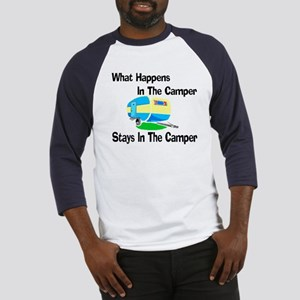 What Happens In The Camper Baseball Jersey