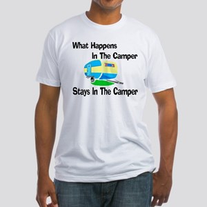 What Happens In The Camper Fitted T-Shirt