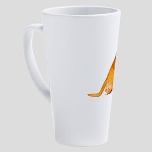 Bullmastiff 17 oz Latte Mug