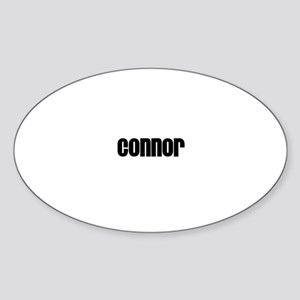 Connor Oval Sticker