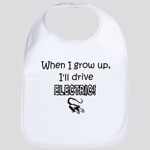 Electric Car Infant Bib