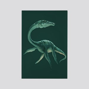 Plesiosaurus Dinosaur Rectangle Magnet