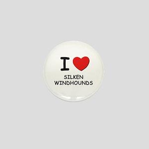 I love SILKEN WINDHOUNDS Mini Button