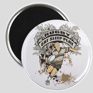 Eat, Sleep, Play Rugby Magnet