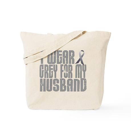 I Wear Grey For My Husband 16 Tote Bag