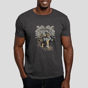 Eat, Sleep, Ride Skateboard Dark T-Shirt