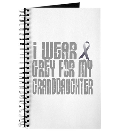 I Wear Grey For My Granddaughter 16 Journal