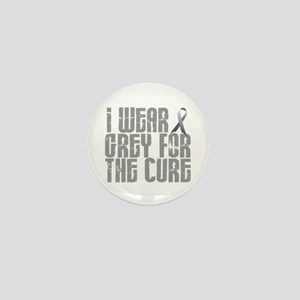 I Wear Grey For The Cure 16 Mini Button