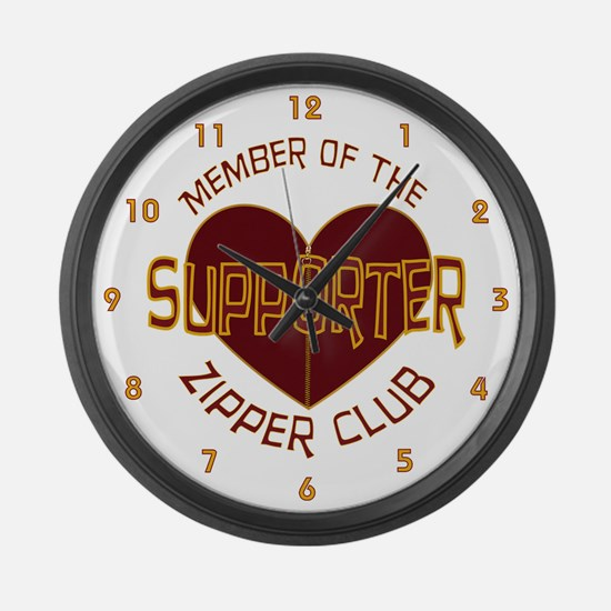 Supporter Large Wall Clock