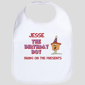 Jesse - The Birthday Boy Bib