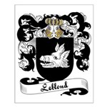 Leblond Family Crest Small Poster