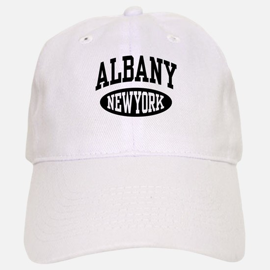 Albany New York Baseball Baseball Cap