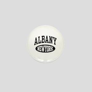 Albany New York Mini Button