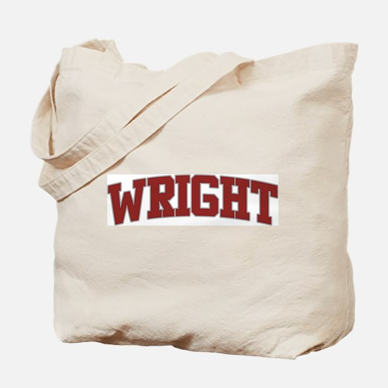 WRIGHT Design Tote Bag