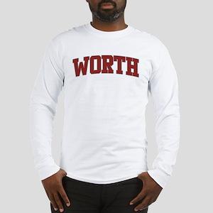 WORTH Design Long Sleeve T-Shirt