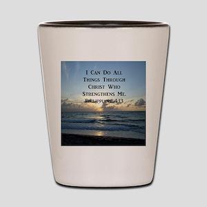 PHIL 4:13 VERSE Shot Glass